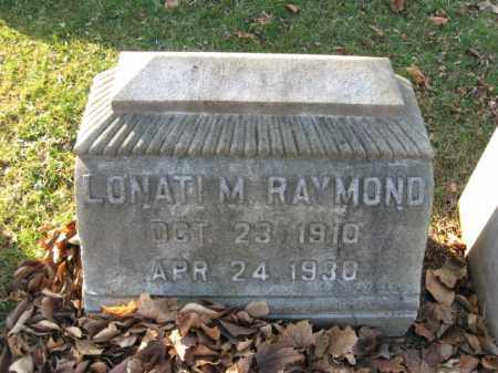 RAYMOND, LONATI M. - Lehigh County, Pennsylvania | LONATI M. RAYMOND - Pennsylvania Gravestone Photos