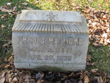 RAYMONG, FRED O. - Lehigh County, Pennsylvania   FRED O. RAYMONG - Pennsylvania Gravestone Photos