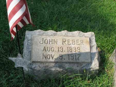 REBER, JOHN - Lehigh County, Pennsylvania   JOHN REBER - Pennsylvania Gravestone Photos