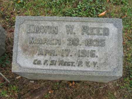 REED, EDWIN W. - Lehigh County, Pennsylvania | EDWIN W. REED - Pennsylvania Gravestone Photos