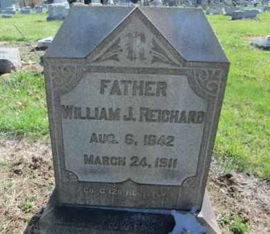 REICHARD (CW), WILLIAM J. - Lehigh County, Pennsylvania | WILLIAM J. REICHARD (CW) - Pennsylvania Gravestone Photos