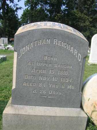 REICHARD, JONATHAN - Lehigh County, Pennsylvania | JONATHAN REICHARD - Pennsylvania Gravestone Photos
