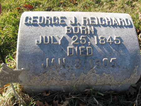 REICHARD, PVT. GEORGE J. - Lehigh County, Pennsylvania   PVT. GEORGE J. REICHARD - Pennsylvania Gravestone Photos