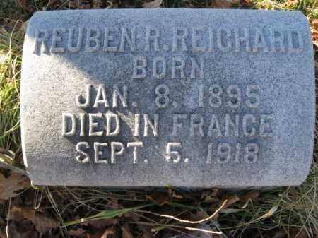 REICHARD, REUBEN R. - Lehigh County, Pennsylvania   REUBEN R. REICHARD - Pennsylvania Gravestone Photos