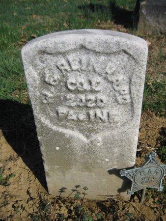 REINHARD (CW), WILLIAM F. - Lehigh County, Pennsylvania | WILLIAM F. REINHARD (CW) - Pennsylvania Gravestone Photos
