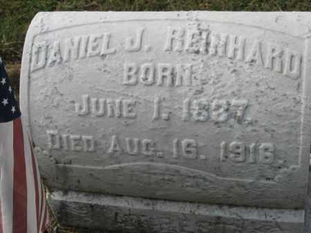 REINHARD, DANIEL J. - Lehigh County, Pennsylvania   DANIEL J. REINHARD - Pennsylvania Gravestone Photos