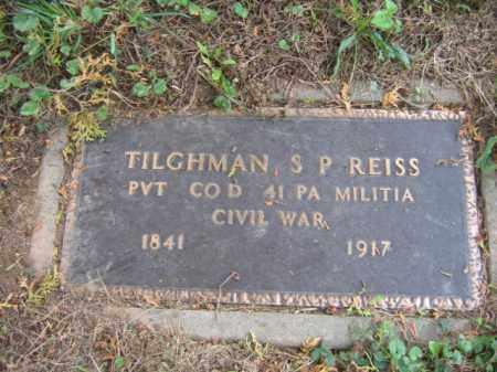 REISS, TILGHMAN S.P. - Lehigh County, Pennsylvania | TILGHMAN S.P. REISS - Pennsylvania Gravestone Photos