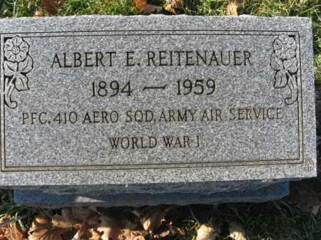 REITENAUER, ALBERT E. - Lehigh County, Pennsylvania | ALBERT E. REITENAUER - Pennsylvania Gravestone Photos