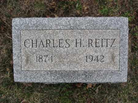 REITZ, CHARLES H. - Lehigh County, Pennsylvania | CHARLES H. REITZ - Pennsylvania Gravestone Photos