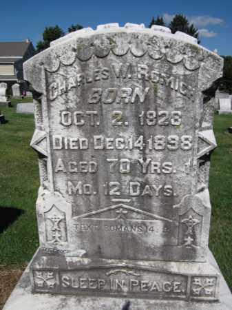 REMICH, CHARLES W. - Lehigh County, Pennsylvania   CHARLES W. REMICH - Pennsylvania Gravestone Photos