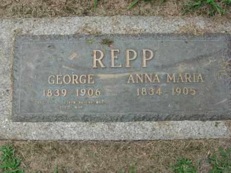 REPP, ANNA MARIA - Lehigh County, Pennsylvania | ANNA MARIA REPP - Pennsylvania Gravestone Photos