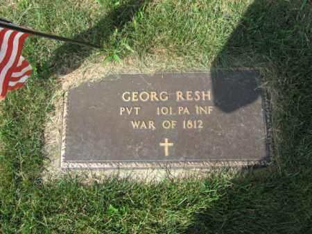RESH, GEROG - Lehigh County, Pennsylvania | GEROG RESH - Pennsylvania Gravestone Photos