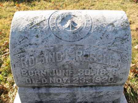 RESSLER, ROLAND - Lehigh County, Pennsylvania   ROLAND RESSLER - Pennsylvania Gravestone Photos
