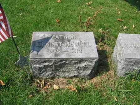 REWOHL, ERNEST - Lehigh County, Pennsylvania   ERNEST REWOHL - Pennsylvania Gravestone Photos