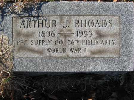 RHOADS, ARTHUR J. - Lehigh County, Pennsylvania | ARTHUR J. RHOADS - Pennsylvania Gravestone Photos