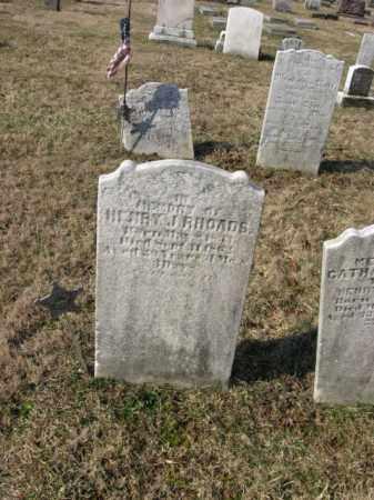 RHOADS (CW), HENRY J. - Lehigh County, Pennsylvania | HENRY J. RHOADS (CW) - Pennsylvania Gravestone Photos