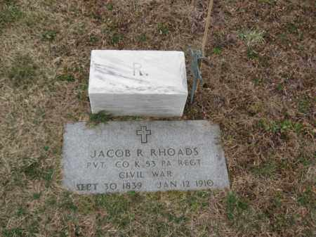 RHOADS (CW), PVT.JACOB R. - Lehigh County, Pennsylvania | PVT.JACOB R. RHOADS (CW) - Pennsylvania Gravestone Photos