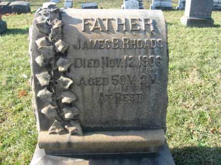 RHOADS, JAMES B. - Lehigh County, Pennsylvania | JAMES B. RHOADS - Pennsylvania Gravestone Photos