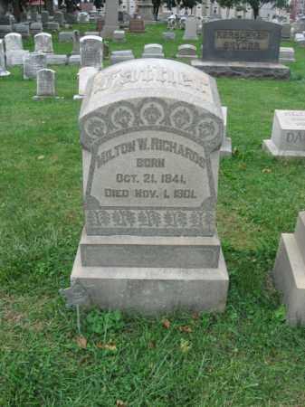 RICHARDS, MILTON W. - Lehigh County, Pennsylvania   MILTON W. RICHARDS - Pennsylvania Gravestone Photos