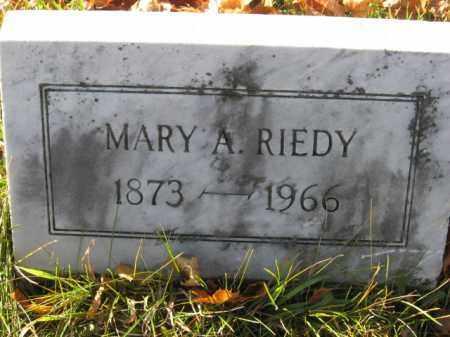 RIEDY, MARY A. - Lehigh County, Pennsylvania   MARY A. RIEDY - Pennsylvania Gravestone Photos