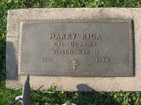 RIGA, HARRY - Lehigh County, Pennsylvania | HARRY RIGA - Pennsylvania Gravestone Photos