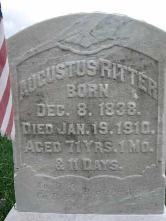 RITTER, AUGUSTUS - Lehigh County, Pennsylvania | AUGUSTUS RITTER - Pennsylvania Gravestone Photos
