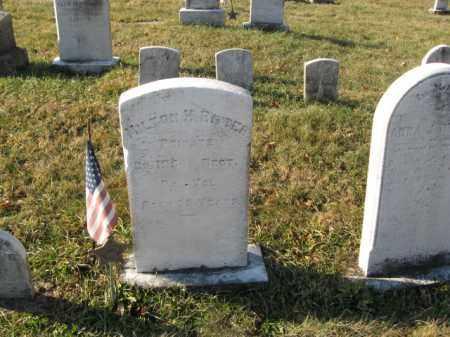 RITTER, PVT. MILTON H. - Lehigh County, Pennsylvania | PVT. MILTON H. RITTER - Pennsylvania Gravestone Photos