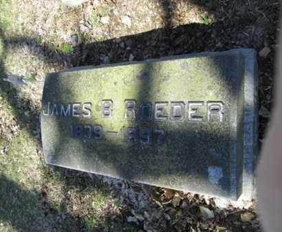 ROEDER (CW), JAMES B. - Lehigh County, Pennsylvania | JAMES B. ROEDER (CW) - Pennsylvania Gravestone Photos