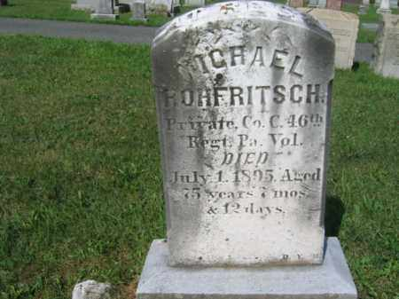 ROHFRITSCH  (CW), PVT.MICHAEL - Lehigh County, Pennsylvania | PVT.MICHAEL ROHFRITSCH  (CW) - Pennsylvania Gravestone Photos