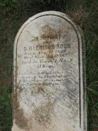 ROHN, D. HARRISON - Lehigh County, Pennsylvania | D. HARRISON ROHN - Pennsylvania Gravestone Photos