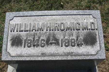 ROMIG, M.D., WILLIAM H. - Lehigh County, Pennsylvania | WILLIAM H. ROMIG, M.D. - Pennsylvania Gravestone Photos