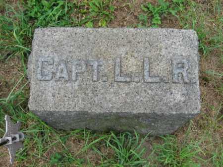 RONEY, CAPT. L.L. - Lehigh County, Pennsylvania | CAPT. L.L. RONEY - Pennsylvania Gravestone Photos