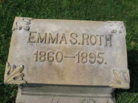 ROTH, EMMA S. - Lehigh County, Pennsylvania | EMMA S. ROTH - Pennsylvania Gravestone Photos