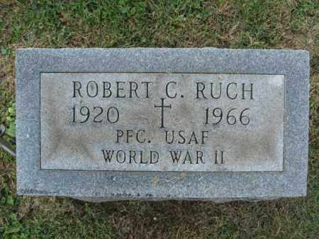 RUCH, ROBERT C. - Lehigh County, Pennsylvania | ROBERT C. RUCH - Pennsylvania Gravestone Photos