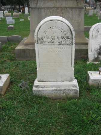RUHE, CHARLES A. - Lehigh County, Pennsylvania | CHARLES A. RUHE - Pennsylvania Gravestone Photos