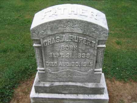 RUPERT, CHARLES A. - Lehigh County, Pennsylvania   CHARLES A. RUPERT - Pennsylvania Gravestone Photos