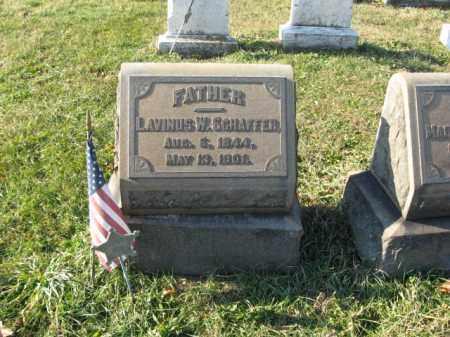 SCHAFFER, LAVINUS W. - Lehigh County, Pennsylvania   LAVINUS W. SCHAFFER - Pennsylvania Gravestone Photos