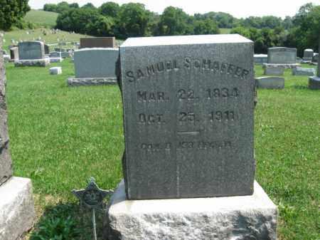 SCHAFFER, SAMUEL - Lehigh County, Pennsylvania   SAMUEL SCHAFFER - Pennsylvania Gravestone Photos