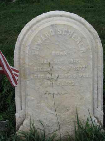 SCHERER, EDWARD - Lehigh County, Pennsylvania   EDWARD SCHERER - Pennsylvania Gravestone Photos