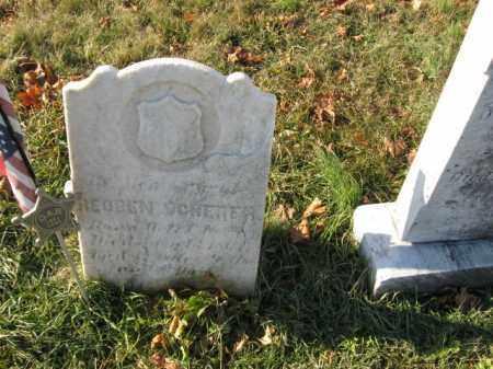 SCHERER, PVT. REUBEN - Lehigh County, Pennsylvania | PVT. REUBEN SCHERER - Pennsylvania Gravestone Photos
