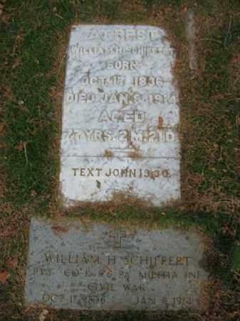 SCHIFFERT (CW), WILLIAM H. - Lehigh County, Pennsylvania | WILLIAM H. SCHIFFERT (CW) - Pennsylvania Gravestone Photos