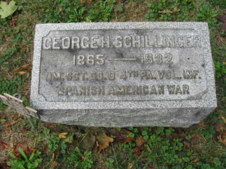 SCHILLINGER, GEORGE - Lehigh County, Pennsylvania | GEORGE SCHILLINGER - Pennsylvania Gravestone Photos