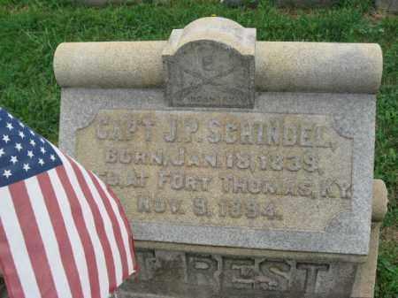 SCHINDEL (CW), JEREMIAH P. - Lehigh County, Pennsylvania | JEREMIAH P. SCHINDEL (CW) - Pennsylvania Gravestone Photos