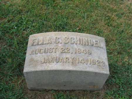 SCHINDEL, ELLA - Lehigh County, Pennsylvania   ELLA SCHINDEL - Pennsylvania Gravestone Photos