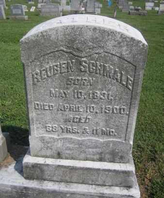 SCHMALE  (CW), REUBEN - Lehigh County, Pennsylvania   REUBEN SCHMALE  (CW) - Pennsylvania Gravestone Photos
