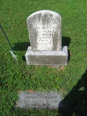 SCHMIDT  (CW), PVT.JONAS - Lehigh County, Pennsylvania | PVT.JONAS SCHMIDT  (CW) - Pennsylvania Gravestone Photos