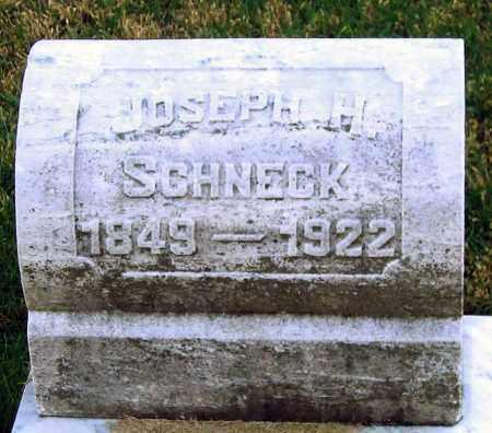 SCHNECK, JOSEPH H. - Lehigh County, Pennsylvania   JOSEPH H. SCHNECK - Pennsylvania Gravestone Photos