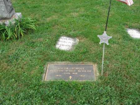 SCHOLL, JACOB - Lehigh County, Pennsylvania | JACOB SCHOLL - Pennsylvania Gravestone Photos