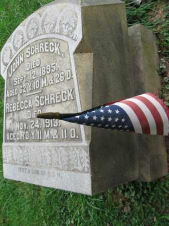 SCHRECK, JOHN - Lehigh County, Pennsylvania | JOHN SCHRECK - Pennsylvania Gravestone Photos