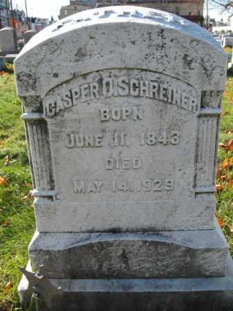 SCHREINER, PVT. CASPER O. - Lehigh County, Pennsylvania   PVT. CASPER O. SCHREINER - Pennsylvania Gravestone Photos